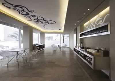 Cafeteria / Frühstücksraum Hotel